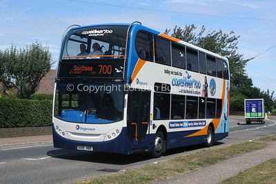 15593, GX10HBB, Stagecoach in the South Downs