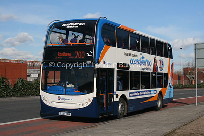 15598, GX10HBG, Stagecoach in the South Downs
