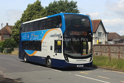 10943, SN18KNG, Stagecoach South