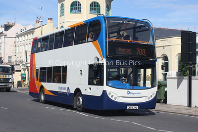15587, GX59JYU, Stagecoach in the South Downs