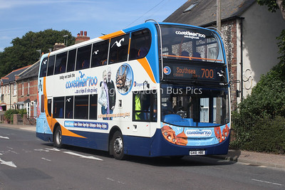 15596, GX10HBE, Stagecoach in the South Downs