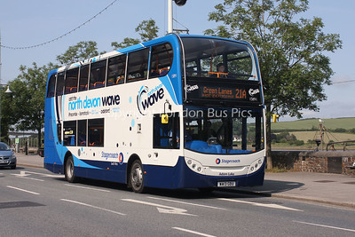 15891, WA13GDU, Stagecoach South West