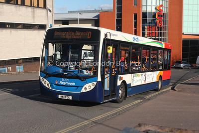 36239, WA11CGK, Stagecoach in Devon