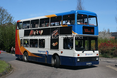 15350, K850LMK, Stagecoach in Devon