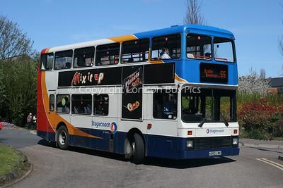 15350, K850LMK, Stagecoach in Devon