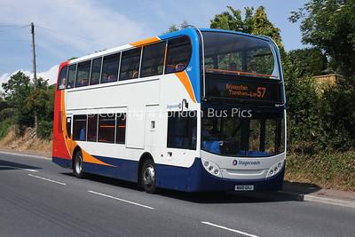 15667, WA10GHJ, Stagecoach in Devon