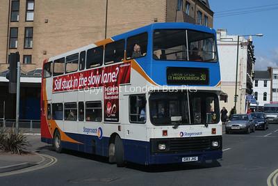 14183, G183JHG, Stagecoach in Devon