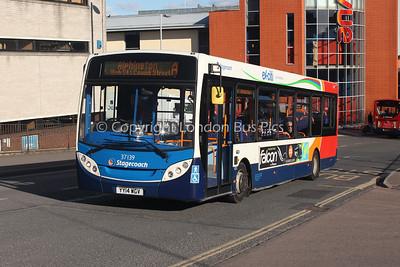 37139, YY14WGV, Stagecoach in Devon