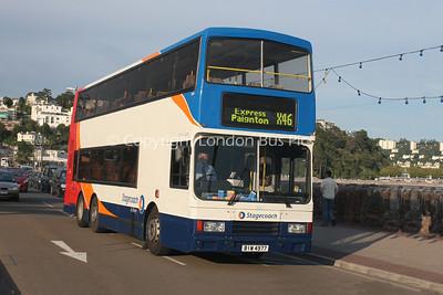13601, BIW4977, Stagecoach in Devon
