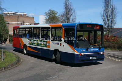 20630, L630TDY, Stagecoach in Devon