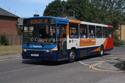 20313, M313YSC, Stagecoach in Hampshire