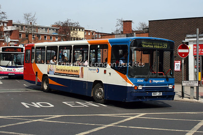 20347, R807JDV, Stagecoach in Devon