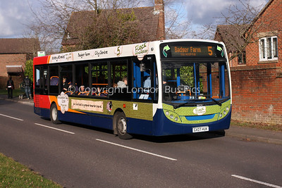 36024, GX07HUK, Stagecoach in Hampshire
