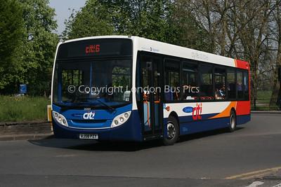 36064, AJ58PZY, Stagecoach in Cambridge