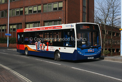 36029, GX07HUY, Stagecoach in Hampshire