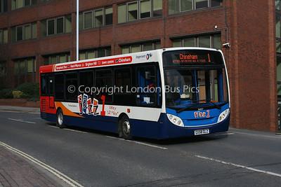 36057, GX58GLZ, Stagecoach in Hampshire