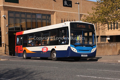 36065, AJ58PZZ, Stagecoach in Peterborough