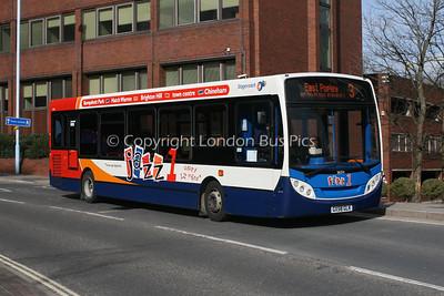 36054, GX58GLK, Stagecoach in Hampshire
