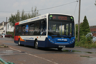 36026, GX07HUP, Stagecoach in Hampshire