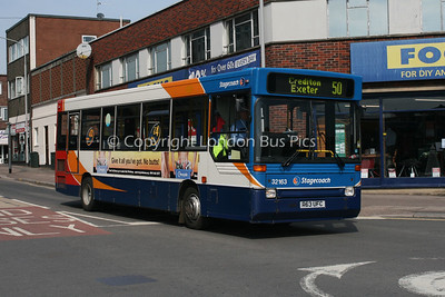 32163, R63UFC, Stagecoach in Devon