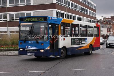 32657, P457EEF, Stagecoach in Hants & Surrey