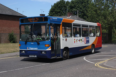 32312, N312AMC, Stagecoach in Hampshire