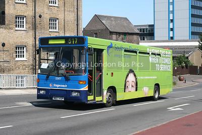 32607, N607KGF, Stagecoach in East Kent