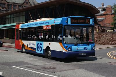31046, R196NPN, Stagecoach in Warwickshire