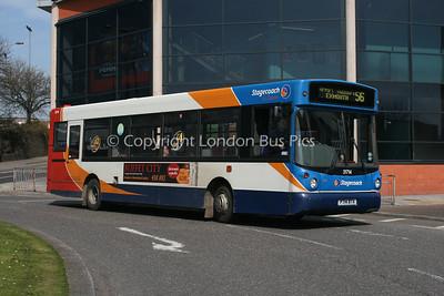 31714, P714BTA, Stagecoach in Devon