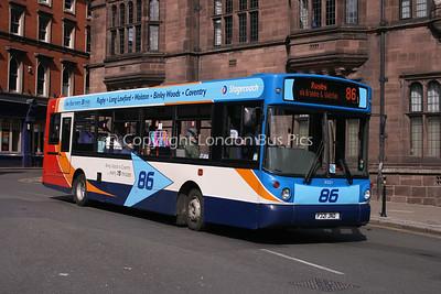 31321, P321JND, Stagecoach in Warwickshire