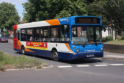 33013, R813HCD, Stagecoach in the South Downs