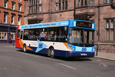 31322, P322JND, Stagecoach in Warwickshire