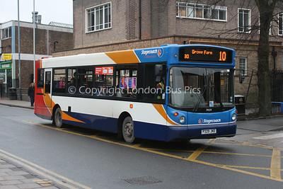 31329, P329JND, Stagecoach in Warwickshire