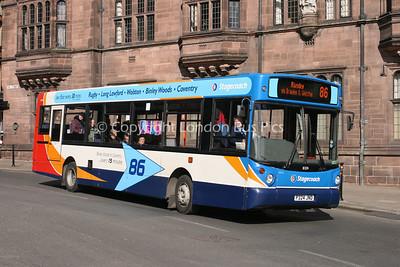 31324, P324JND, Stagecoach in Warwickshire