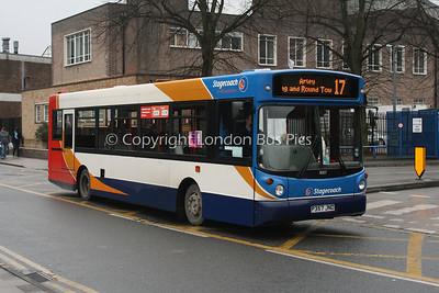 31357, P357JND, Stagecoach in Warwickshire
