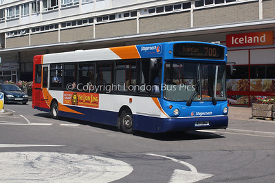33011, R711DNJ, Stagecoach in the South Downs