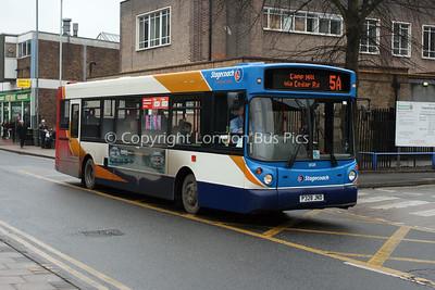 31328, P328JND, Stagecoach in Warwickshire
