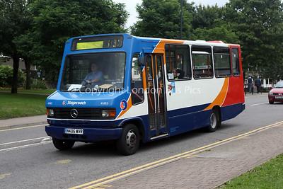41405, N405WVR, Stagecoach de Cymru