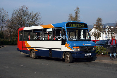 42672, R672LFV, Stagecoach in Cumbria