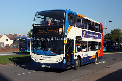 15972, YP14GZB, Stagecoach West
