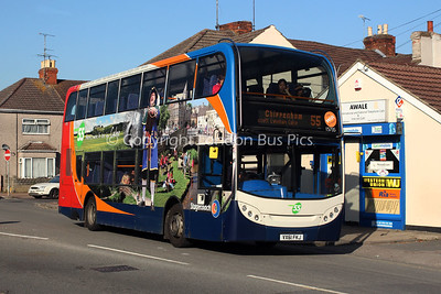 15735, VX61FKJ, Stagecoach West