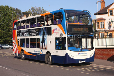 15689, YN60ACY, Stagecoach in Chesterfield