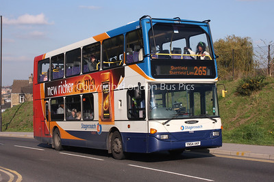 15416, YN54VKF, Stagecoach in Yorkshire