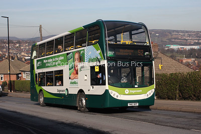 12165, YN62BFP, Stagecoach in Sheffield