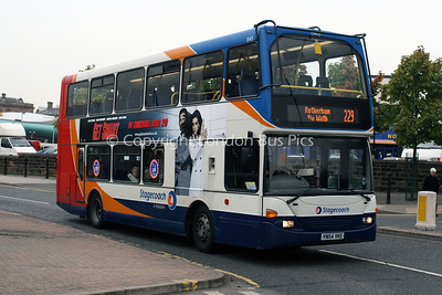 15415, YN54VKE, Stagecoach in Yorkshire