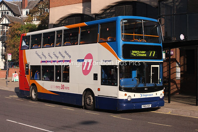 18122, YN04KGF, Stagecoach in Chesterfield