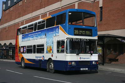 16495, P145KWJ, Stagecoach in Chesterfield