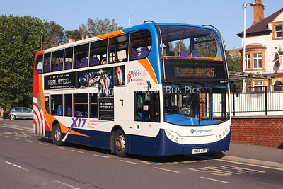 15694, YN60ADX, Stagecoach in Chesterfield