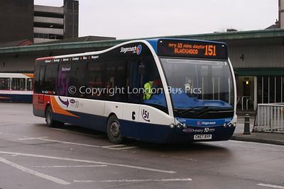 25204, CN57BYP, Stagecoach de Cymru