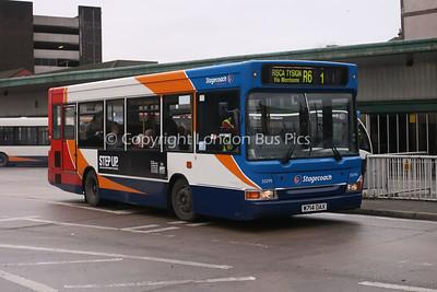 33290, W714DAX, Stagecoach de Cymru
